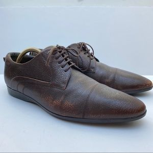 FREE W PURCHASE Hugo Boss Leather Oxford Shoes